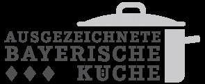 Auszeichnung Augezeichnete Bayerische Küche