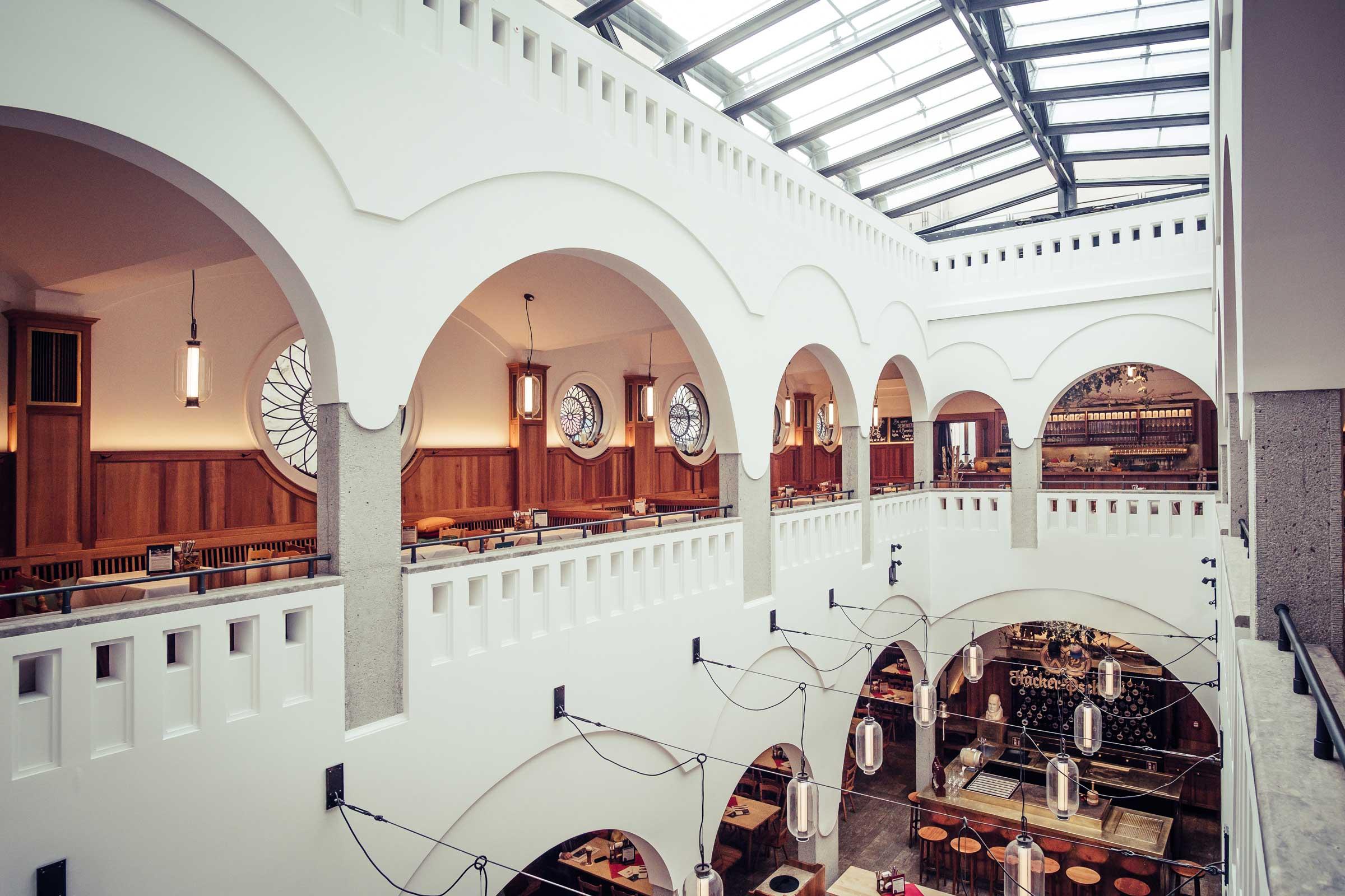 Ausblick von der Galerie